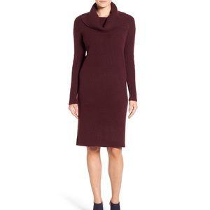 Halogen Turtleneck Cowl Sweater Dress Size 1 plus